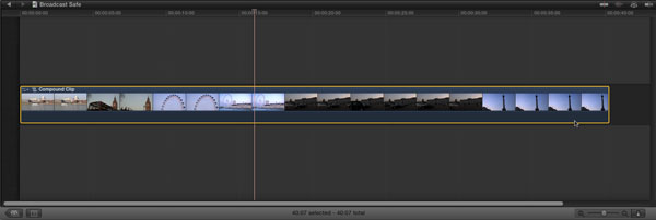 Compound Clip in FCP X